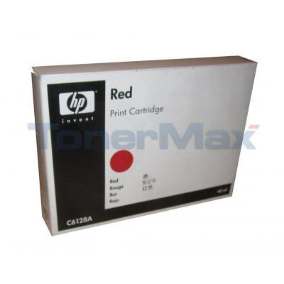 HP TIJ 2.5 NON-FLUORESCENT PRINT CTG RED 42ML